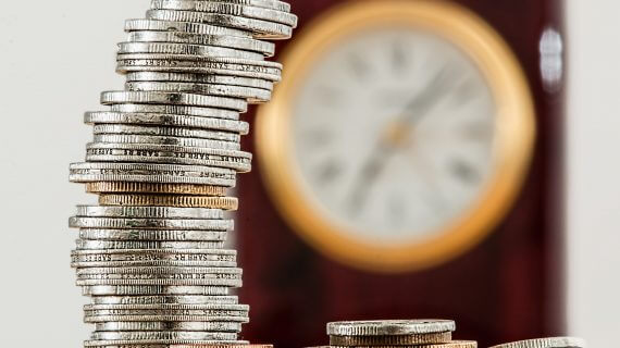 Picture of a Stack of Coins - Investment - Financing