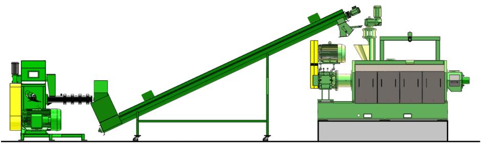 Vented Conveyor Length
