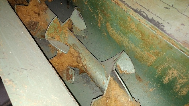 Cut and Fold screw