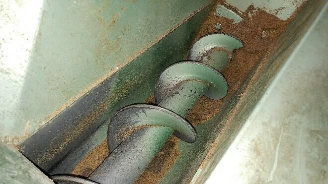 Singleflight conveyor screw